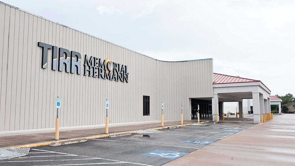 Exterior photo of TIRR Memorial Hermann at Kirby Glen Center