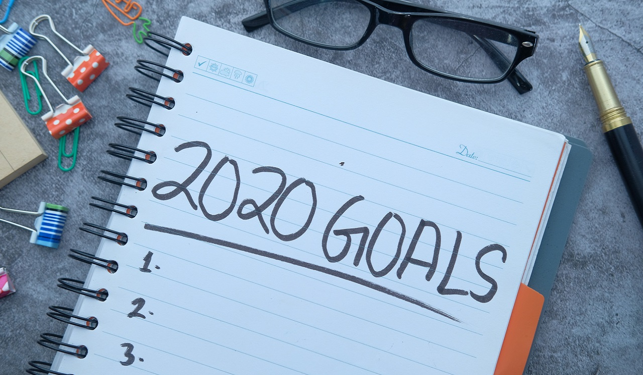 A note book for 2020 Goals
