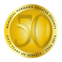 Greater Heights 50th logo