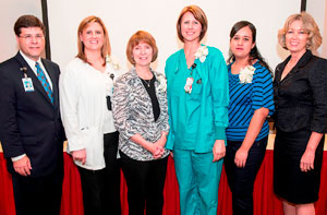 Employees Recognized with Healthcare Excellence Awards