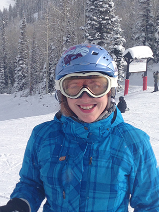 TIRR Memorial Hermann brain injury patient Emily Claire Jackson returns to snow skiing.