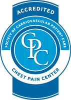 Accredited Chest Pain Center Medallion