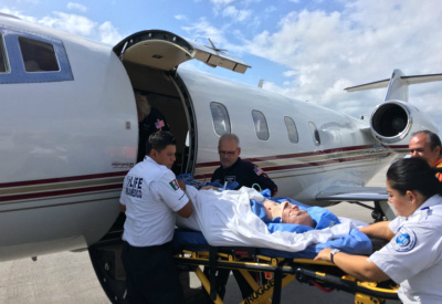 Dr. Pham medical evacuation from Cancun
