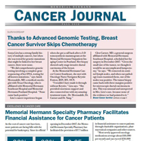 Memorial Hermann Cancer Journal Fall 2018